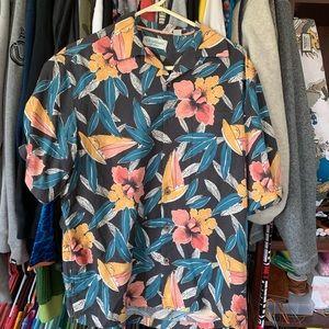 Amazing Caribbean super soft floral Hawaiian shirt
